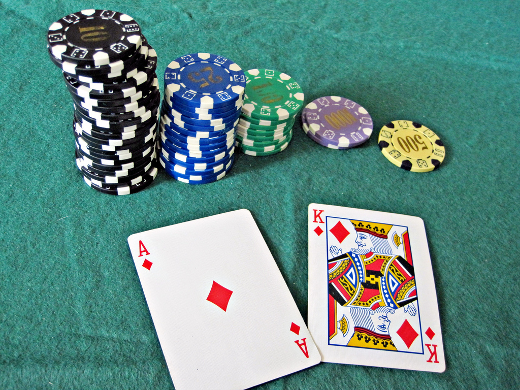 Pictures of gambling chips